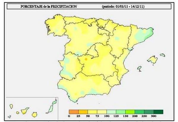 precipitación 2011