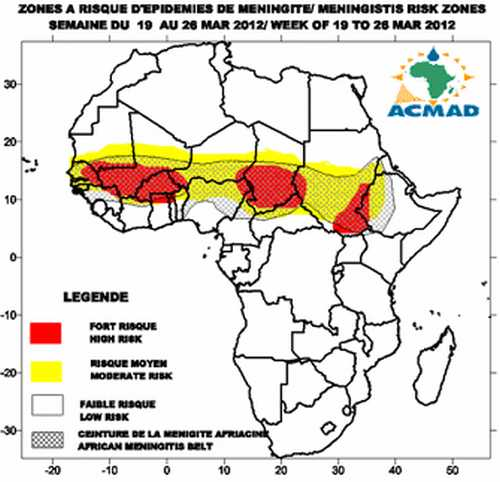 Meningitis en el Sahel