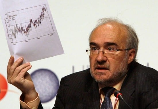 Michael Jarraud en el día meteorológico mundial