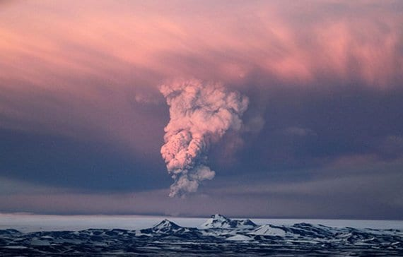 Columna glaciar Vatnajokull