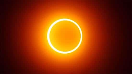 Foto eclipse solar mayo anular