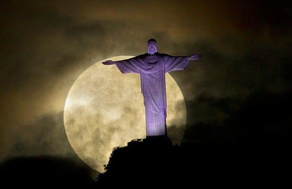 Superluna 2012 Río de Janeiro
