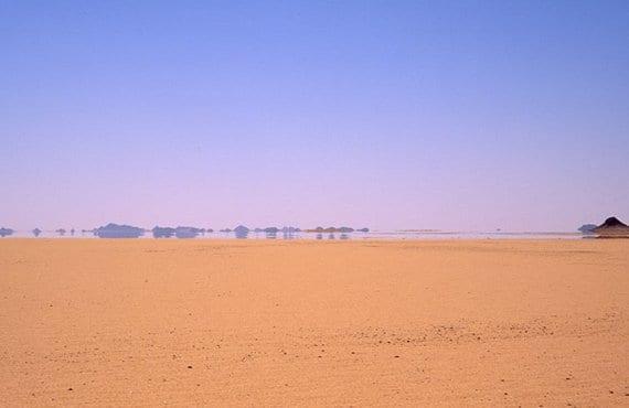 Espejismo en desierto 2