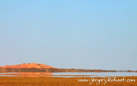 Espejismo en desierto 3