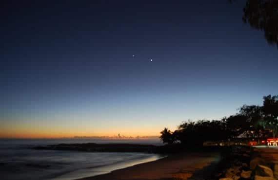 Venus en el cielo nocturno 2