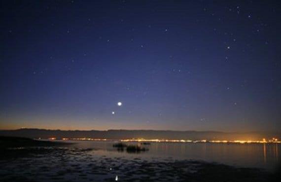Venus en el cielo nocturno 3