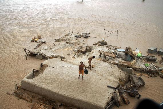Lluvias en Pakistan