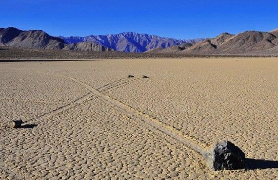 Piedras del valle de la muerte