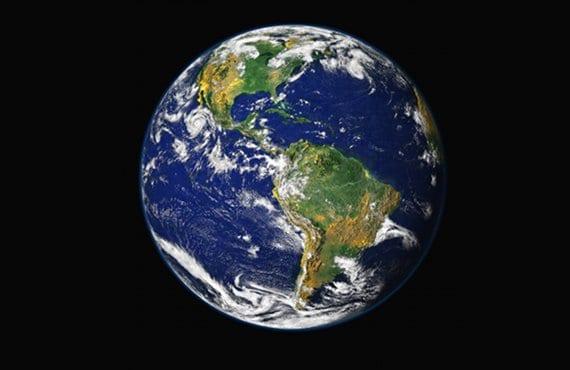 Tierra desde el espacio