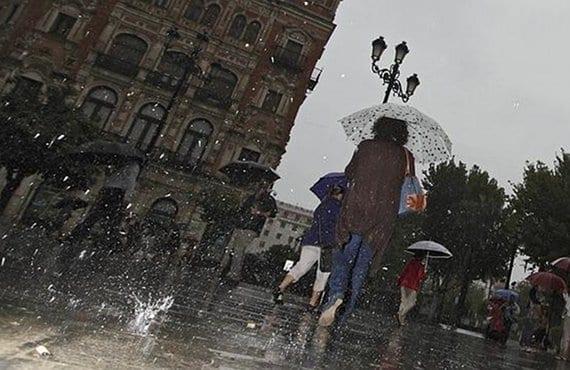 Lluvia Sevilla
