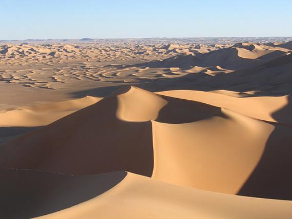 Temperaturas desierto