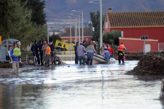 Inundaciones Lorca