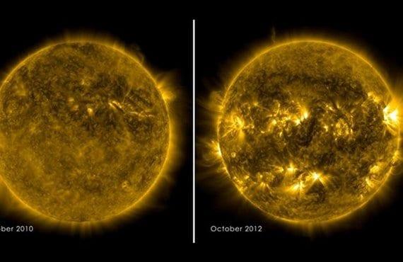 Actividad solar máxima