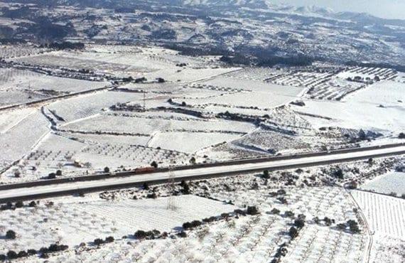 Nevada en Lleida