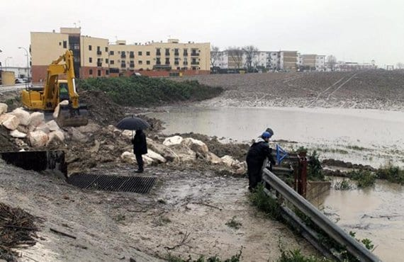 Desbordamiento río Genil