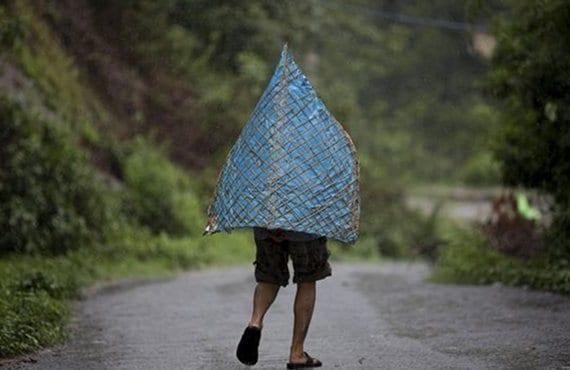 Nepal, lluvias monzón