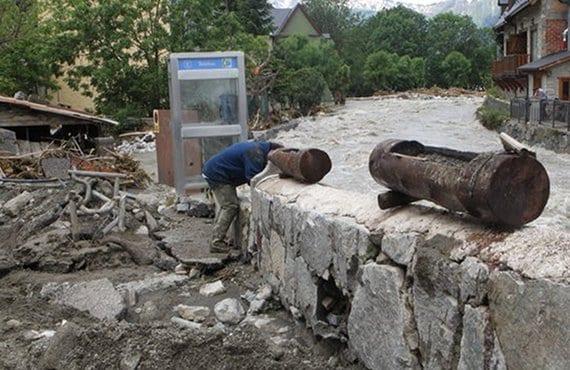 Valle Arán inundaciones