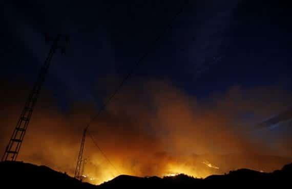 Incendio forestal, Arizona