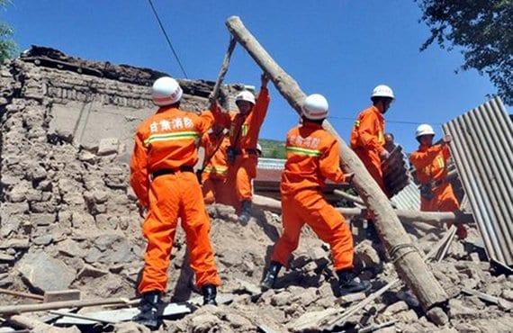 Terremoto China