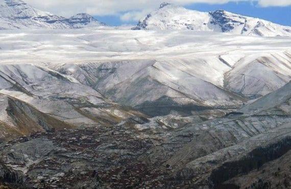 Bolivia, nevadas