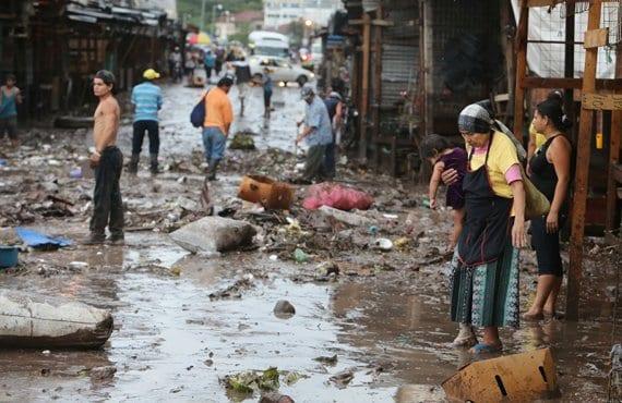 Honduras, inundaciones