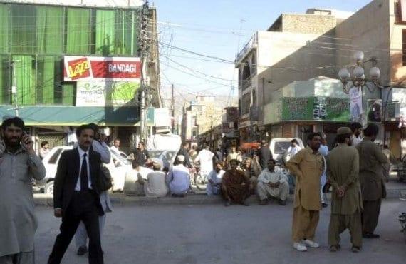 Pakistán, terremoto