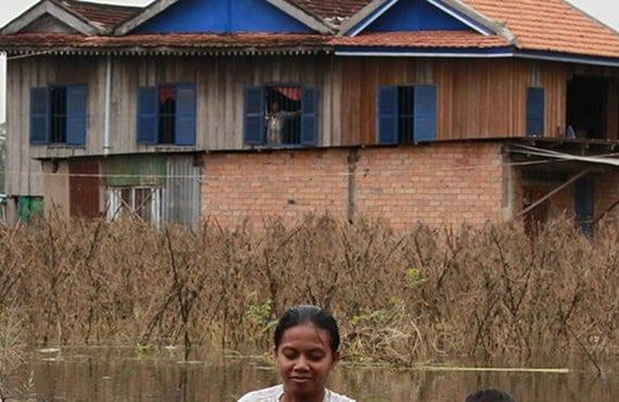 Camboya, inundaciones