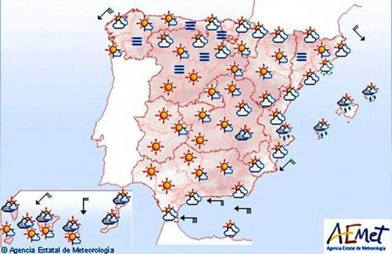 Previsión meteorológica