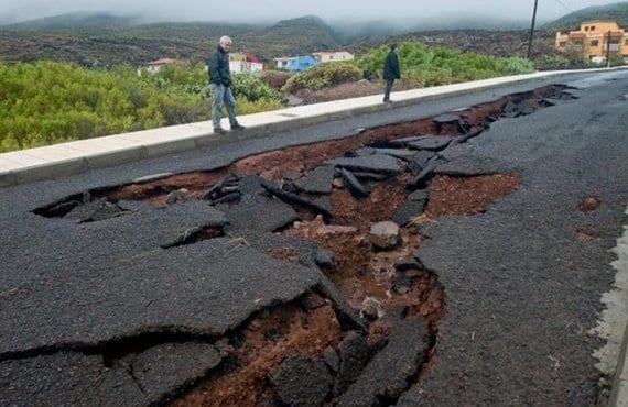 Canarias, daños lluvias