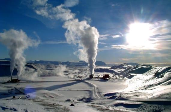 Planta geotérmica