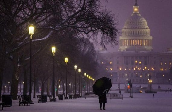 Washington, nieve