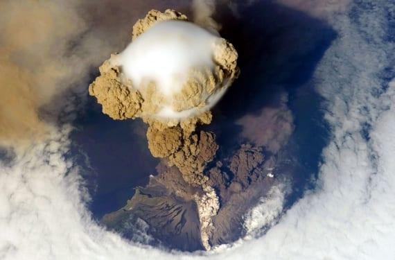 Erupción explosiva