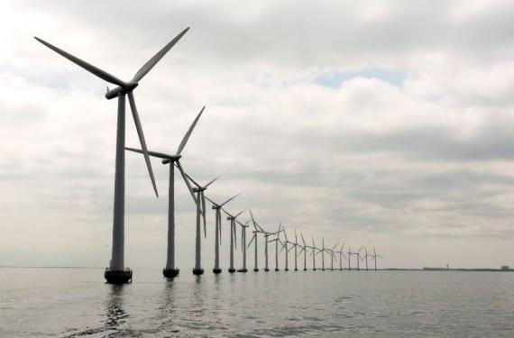 Parque eólico mar adentro