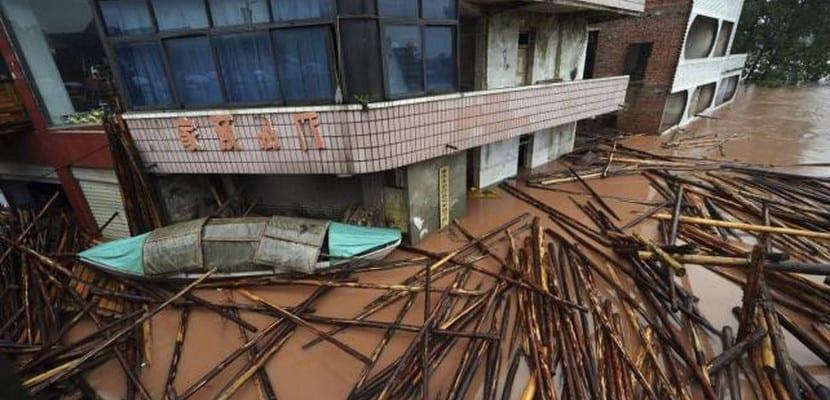 Lluvias torrenciales en China