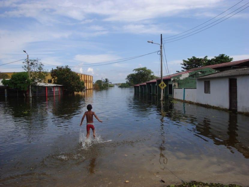 Afectados inundaciones