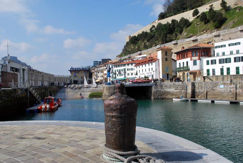 Río Urumea a su paso por San Sebastián