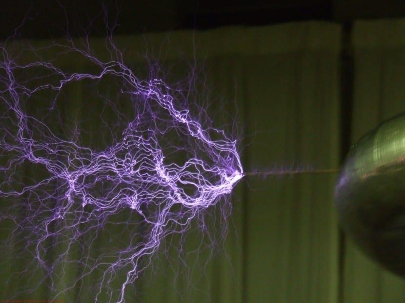 Fuego San Telmo simulado en laboratorio
