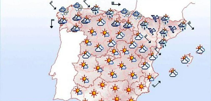 Mapa de predicciones