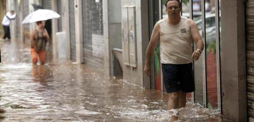 Inundaciones en Tenerife