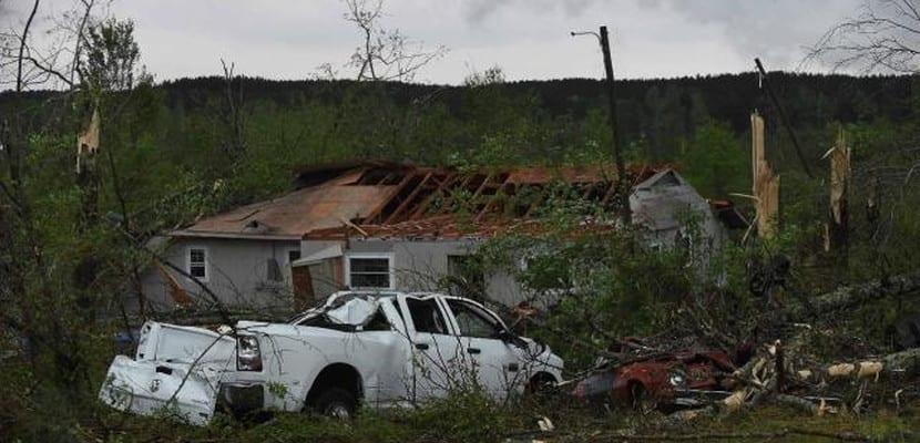 Tornado en Misisipi