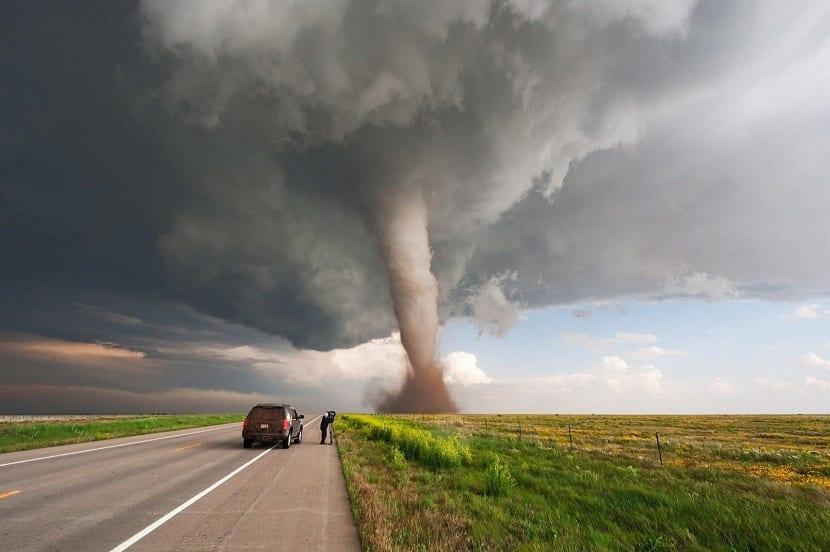 Que es un tornado