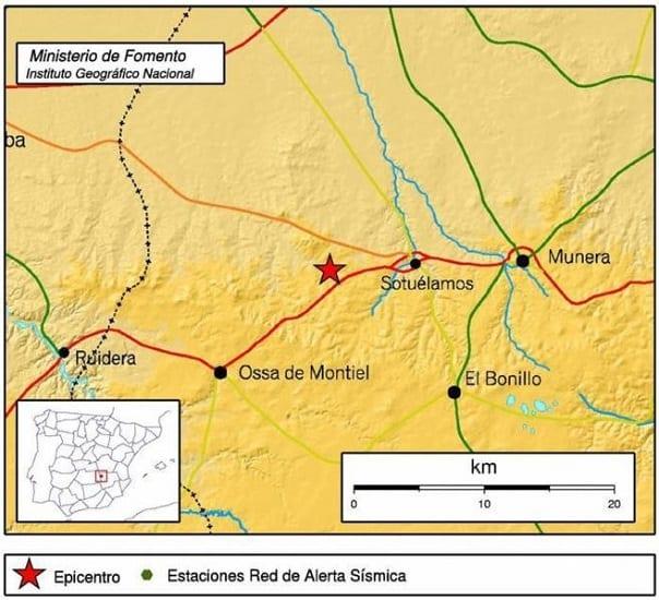 Terremoto España