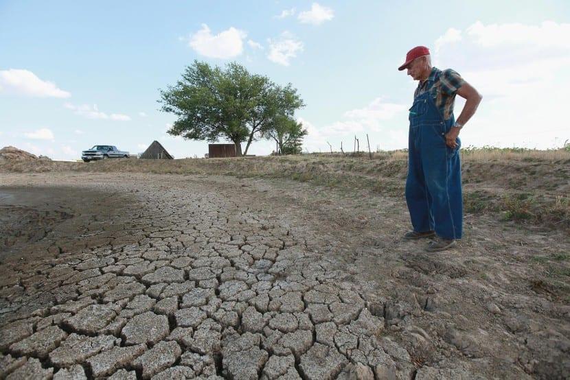 Sequía histórica Estados Unidos