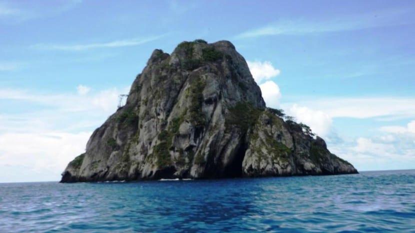 Islote Manuelita en la Isla de Cocos