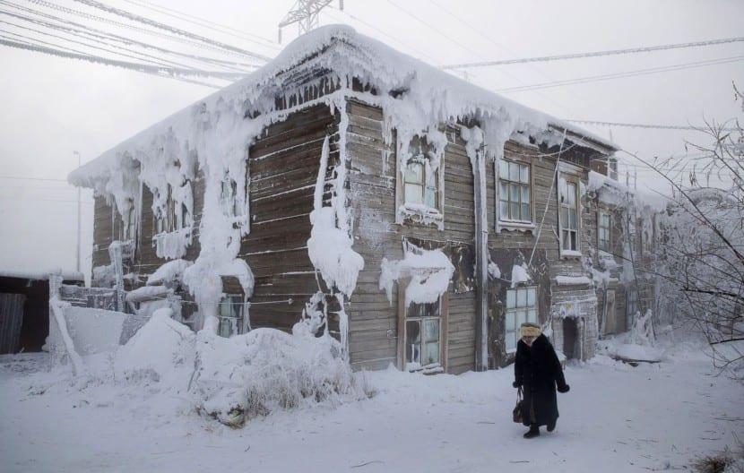 Ciudad más fría del planeta