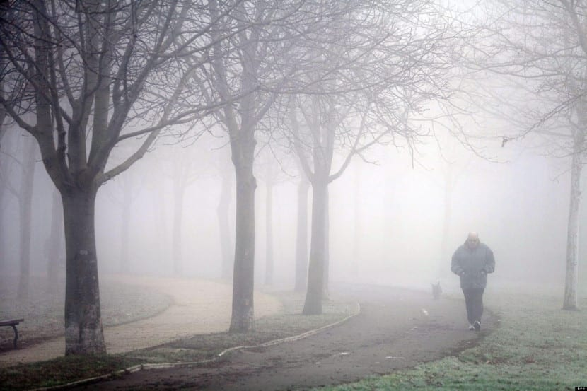 cómo se origina la niebla
