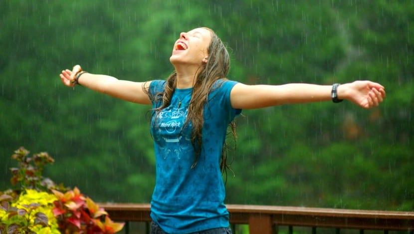 huele a lluvia