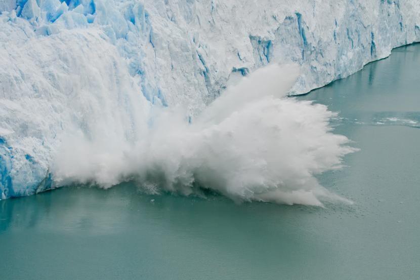Deshielo por el calentamiento global