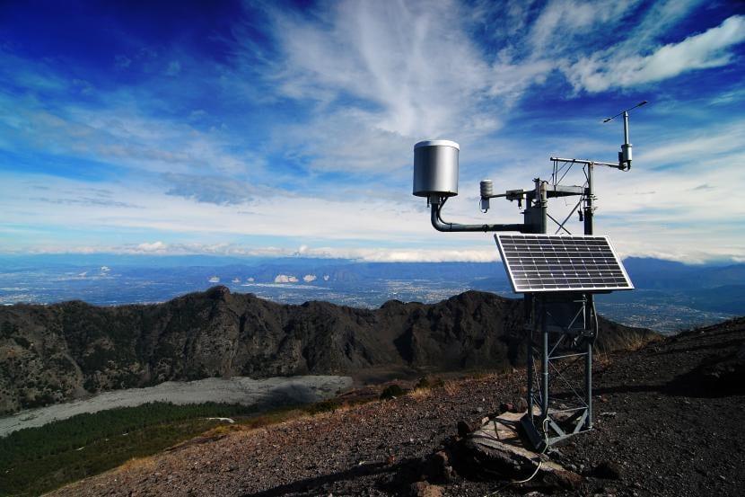 Estación meteorológica profesional, uno de los instrumentos meteorológicos más usados