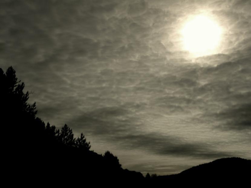 Sol nublado
